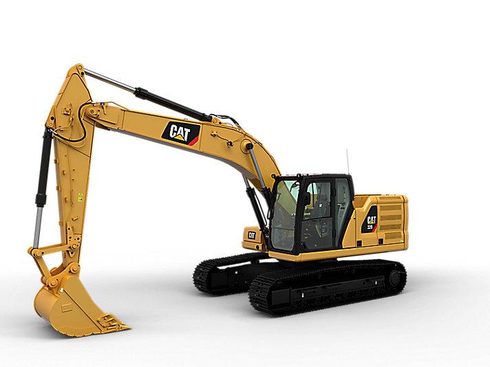 卡特320挖掘机